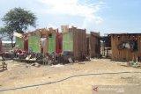 100 unit rumah rusak akibat angin kencang