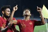 Menang 2-0 atas Singapura, Timnas U-22 Indonesia rebut puncak Grup B