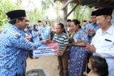 Peringatan HUT Korpri Jateng diwarnai perbaikan RTLH dan pemberian santunan