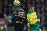 Arsenal gagal kemas tiga poin usai ditahan imbang Norwich City