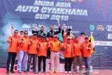 Pebalap Indonesia tercepat ajang Muba Auto Asia Gymkhana di Sirkuit Skyland