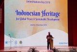 Program warisan dunia UNESCO berkontribusi pada perdamaian
