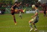 Sebagian pemain Borneo FC mulai gelar latihan bersama lanjutan liga 1