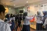 Siswa sekolah karakter belajar jadi jurnalis di ANTARA