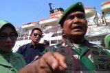 Pangdam XIV/Hasanuddin Mayjen TNI Surawahadi lepas pasukan PBB ke Lebanon