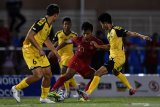 Gol pembuka Saddil Ramdani ke gawang Laos,  Indonesia amankan tiket semifinal
