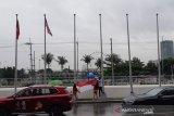 Pertandingan tenis SEA Games 2019  dibatalkan karena cuaca buruk