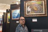 Hasilkan karya, pelukis Sabar Subadri menolak disebut penyandang disabilitas