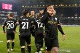 Manchester City hantam Burnley demi duduki posisi kedua Liga Inggris