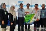 PNM Makassar gandeng Badan Penyelenggara Jamsostek lindungi 150 warga prasejahtera