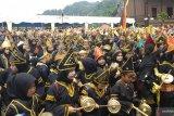 Tanah Datar pecahkan rekor MURI pemain talempong pacik terbanyak