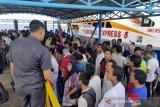 Malaysia deportasi 53 TKI bermasalah dari Dumai, satu sedang hamil