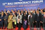 Menlu soroti demokrasi inklusif dan kerapuhan negara