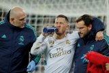 Retak pergelangan kaki, Eden Hazard absen dalam El Clasico
