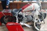 Pembawa Harley ilegal di pesawat baru Garuda ternyata tak suka motor