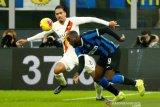 Inter main seri dengan Roma