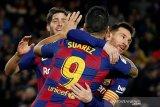 Lionel Messi rayakan Ballon d'Or dengan trigol bantu Barcelona atasi Mallorca