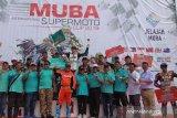Pebalap Inggris tampil juara  Muba International Supermoto 2019
