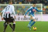 Napoli ditahan imbang Udinese