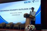 Parni Hadi:  Memberantas kemiskinan dimulai dari pembangunan