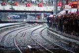 Tiga migran Aljazair tewas terlindas kereta