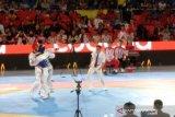 Indonesia tutup Taekwondo dengan perak
