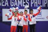 Indonesia di cabang renang raih perak 4x100 estafet gaya ganti