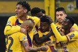Ansu Fati menangkan Barcelona 2-1 atas Inter Milan
