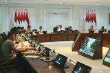 Jokowi minta pemanfaatan dana desa diutamakan untuk program padat karya