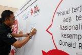 BPJamsostek Pekanbaru galang tandatangan peringati hari anti korupsi