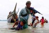 Myanmar tangkap kapal yang membawa 173 Muslim Rohingya