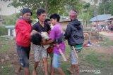 Seorang ibu dan anak kandungnya tewas di sambar petir
