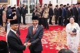 Wiranto tegaskan tidak harus mundur dari Dewan Pembina Hanura