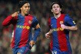 Ronaldinho enggan akui Lionel Messi sebagai pemain terbaik sepanjang masa