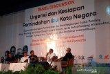 Kemenhub kaji operasional bus amfibi untuk Ibu Kota Negara baru