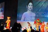 Princess Megonondo sampaikan bhineka tunggal ika di ajang Miss World London