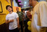 Pembukaan outlet sang pisang milik Kaesang Pangarep