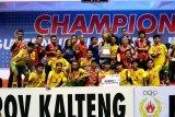Barito Utara juara I futsal piala Gubernur Cup