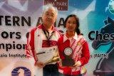 Pecatur Ummi Fisabilillah meraih norma WGM usai juara junior Asia Timur
