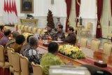 Presiden Joko Widdoi terima pengurus PSSI 2019-2023