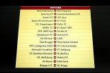 Berikut hasil undian 32 besar Liga Europa