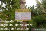 Pemprov Sumsel kucurkan dana  perbaikan jalan Musirawas Utara
