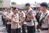 289 personel Brimob Polda Sulawesi Utara tiba di Manado