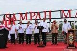 Presiden Jokowi resmikan pengolahan sampah modern Manggar di Balikpapan