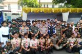 Kapolri dan Panglima TNI cek pengamanan Katedral Semarang jelang Natal