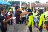 Kalahkan Rantau Kopar, tim voli putri Balai Jaya raih medali emas Porkab Rohil