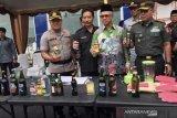 Polresta Samarinda musnahkan barang bukti kasus miras dan narkoba