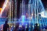 The dancing fountain present  in Padang