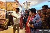 Megawati jelaskan manfaat kembang telang pada menteri