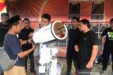 Gerhana matahari cincin perdana melintasi langit Aceh